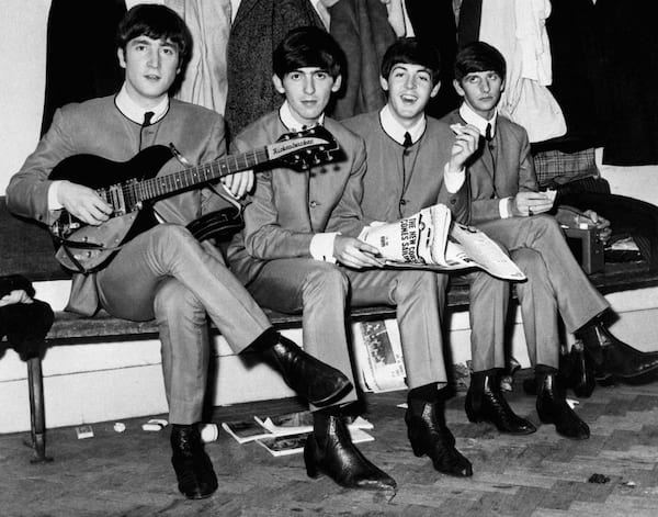 Pierre Cardin, the Beatles