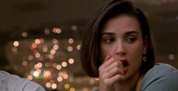 Demi Moore, Incident Proposal, movies/tv