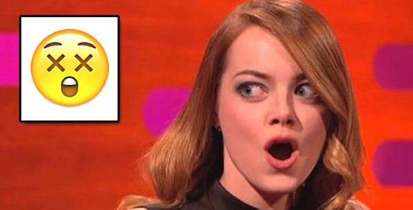Emma stone dead surprised