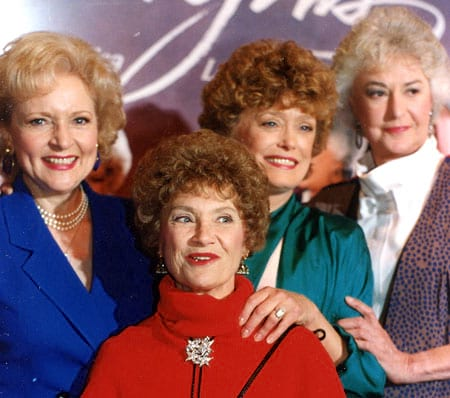 movies/tv, celebs, Golden Girls Reunion, Rue McClanahan, Estelle Getty, betty white, bea arthur, The Cast of the Golden Girls