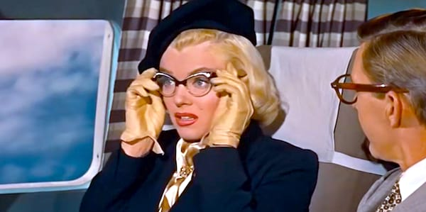 marilyn monroe, How to Marry a Millionaire, glasses, quiz, SC, ps