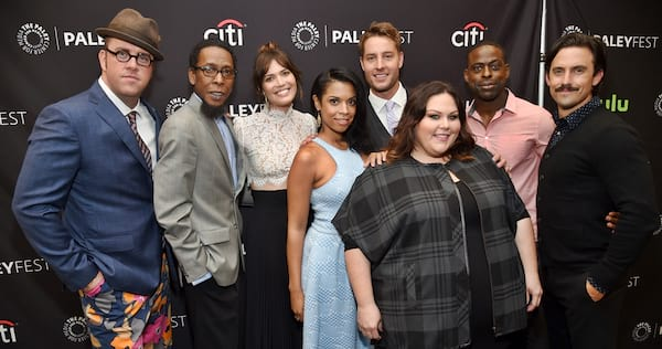 The cast of This Is Us., pop culture, movies/tv
