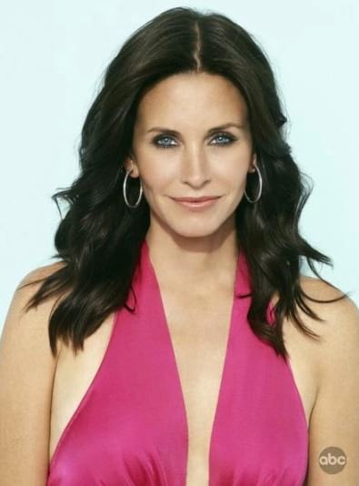 Courteney Cox then and now pics