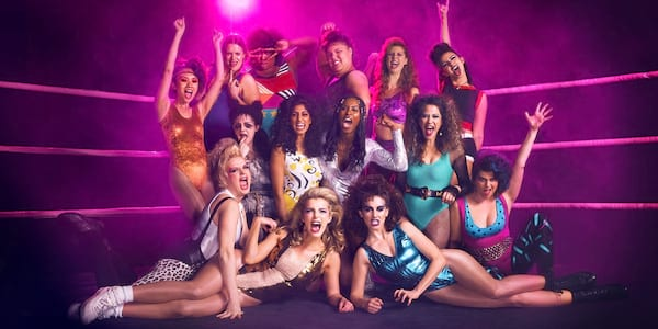 pop culture, tv, Cast of GLOW