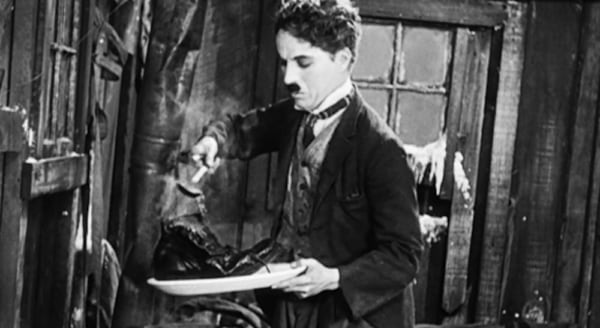 Charlie Chaplin, the gold rush, movies