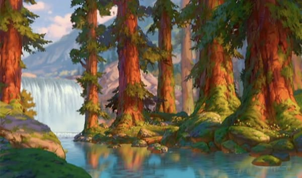 opening scene, brother bear, Disney, movies