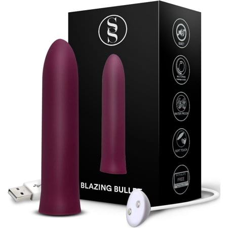 Blazing Bullet Pocket Rocket Rechargeable Waterproof Personal Massager from Walmart