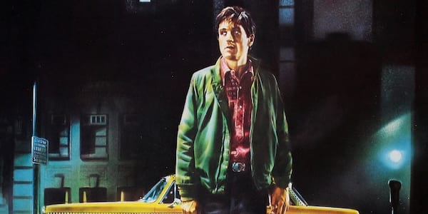 Taxi Driver, 70s movie poster