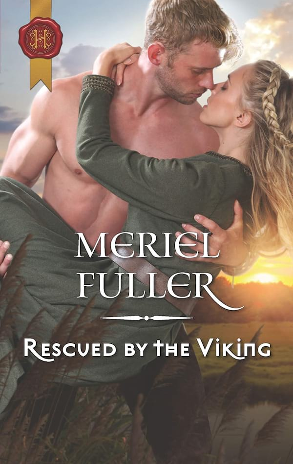 books, cover of Rescued by the Viking by Meriel Fuller, Viking Romance Novels