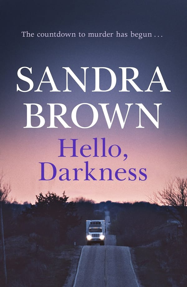 books, cover of Hello Darkness by Sandra Brown, Sandra Brown Books