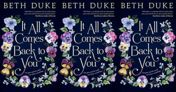 books, it all comes back to you by beth duke, funny book club books